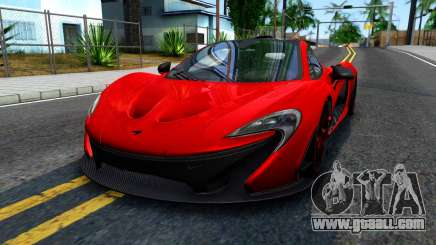 McLaren P1 2015 for GTA San Andreas