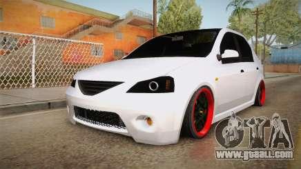 Dacia Logan Tuning v2 for GTA San Andreas