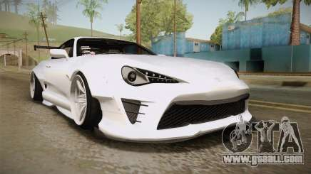 Toyota Supra 8PraLift Hachi NieR Automata 2B for GTA San Andreas