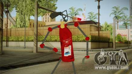 A fire extinguisher for GTA San Andreas