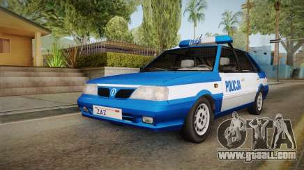 Daewoo-FSO Polonez Caro Plus Policja 2 1.6 GLi for GTA San Andreas