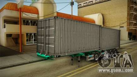 Trailer Container v1 for GTA San Andreas