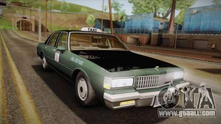 Chevrolet Caprice Taxi 1989 for GTA San Andreas