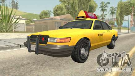 GTA 4 Taxi Car for GTA San Andreas