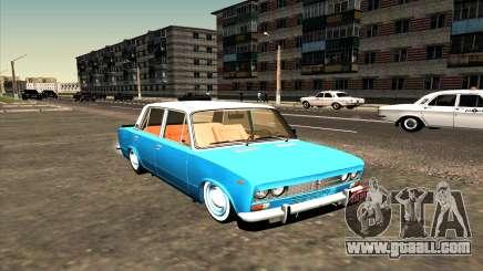 VAZ 2103 azure for GTA San Andreas