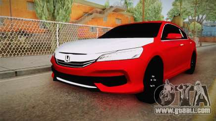 Honda Accord 2017 Hajwalla for GTA San Andreas