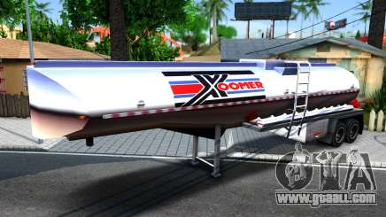 Realistic Tanker Trailer for GTA San Andreas