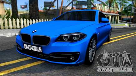 BMW 520i F10 for GTA San Andreas