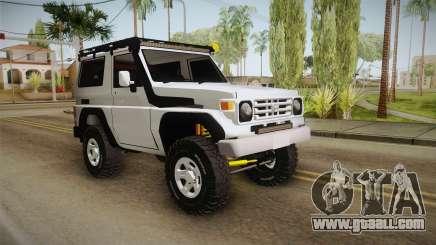 Toyota Land Cruiser Machito for GTA San Andreas