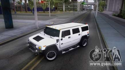 Hummer H2 Loud Sound Quality for GTA San Andreas