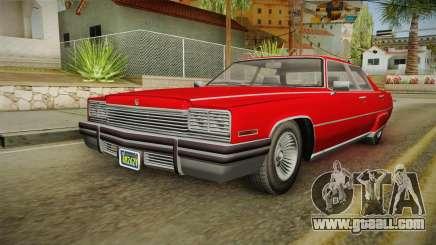 GTA 5 Albany Manana 4-doors for GTA San Andreas