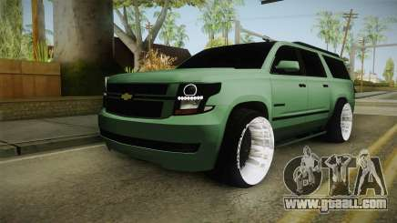 Chevrolet Tahoe GT Stance Bass Booster for GTA San Andreas