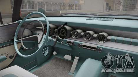 Pontiac Bonneville Hardtop 1958 IVF for GTA San Andreas inner view