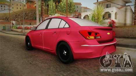 Chevrolet Cruze LS Beta for GTA San Andreas left view