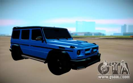 Mercedes-Benz G Brabus for GTA San Andreas