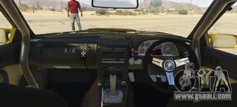 GTA 5 Mazda Fc3 BN SPORTS rear left side view