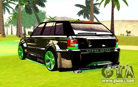 Land Rover Range Rover Sports Light Tuning for GTA San Andreas left view