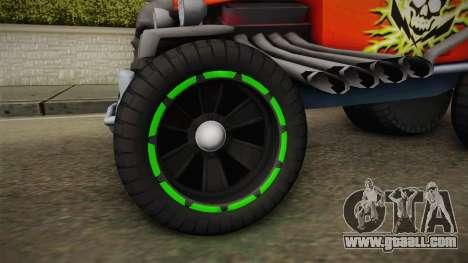 Hot Wheels Baja Bone Shaker for GTA San Andreas back view