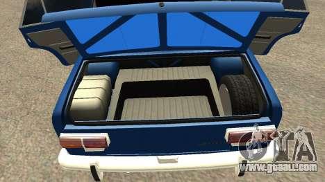 VAZ 2101 for GTA San Andreas upper view