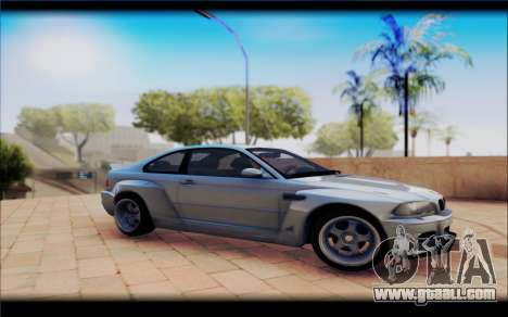 BMW M3 Е46 CSL for GTA San Andreas