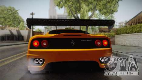 Ferrari 360 Challenge Stradale v3.1 for GTA San Andreas side view