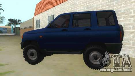 UAZ 3160 for GTA San Andreas left view