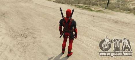 GTA 5 Deadpool 2.0 second screenshot
