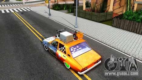 Renault 12 El Rat for GTA San Andreas back view