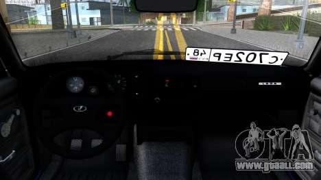VAZ 21056 for GTA San Andreas inner view