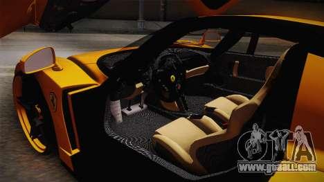 Ferrari Enzo Novitec Rosso for GTA San Andreas side view