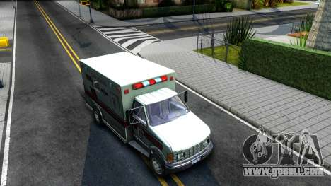 Resident Evil Ambulance for GTA San Andreas right view