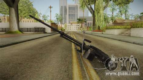 PKT Tank Machine Gun for GTA San Andreas second screenshot