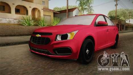 Chevrolet Cruze LS Beta for GTA San Andreas