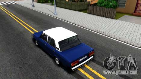 VAZ 21056 for GTA San Andreas back view