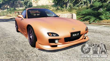 Mazda RX-7 Spirit R Type A (FD3S) 2002 [add-on] for GTA 5