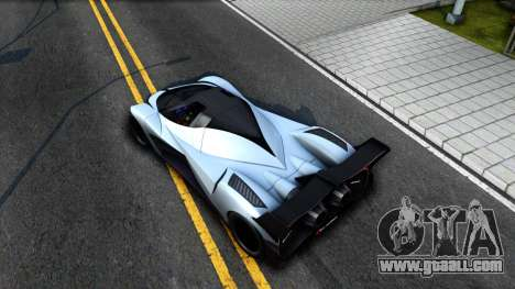 Devel Sixteen for GTA San Andreas back view