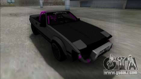 1984 Toyota Celica Supra Cabrio Drift Monster for GTA San Andreas back left view
