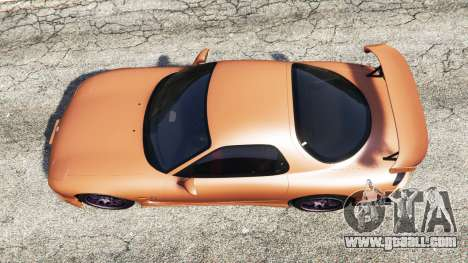 GTA 5 Mazda RX-7 Spirit R Type A (FD3S) 2002 [add-on] back view