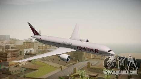 Boeing 787 Qatar Airways for GTA San Andreas