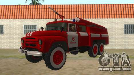 131Н ZIL AC-40 Fire for GTA San Andreas