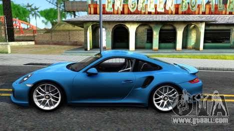 Porsche 911 Turbo S for GTA San Andreas left view