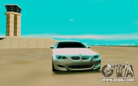 BMW M5 E60 for GTA San Andreas right view