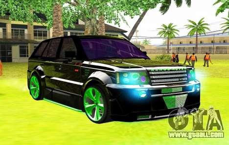 Land Rover Range Rover Sports Light Tuning for GTA San Andreas