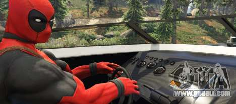 GTA 5 Deadpool 2.0 third screenshot
