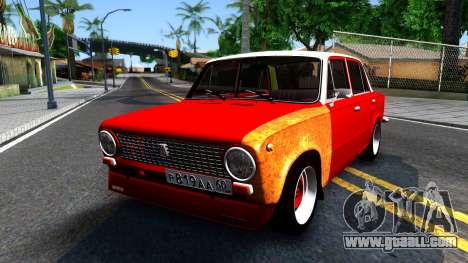 VAZ 2101 V3 GVR for GTA San Andreas
