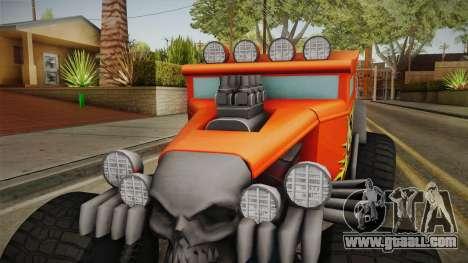 Hot Wheels Baja Bone Shaker for GTA San Andreas inner view