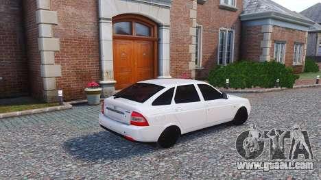 Lada Priora Hatchback for GTA 4 left view