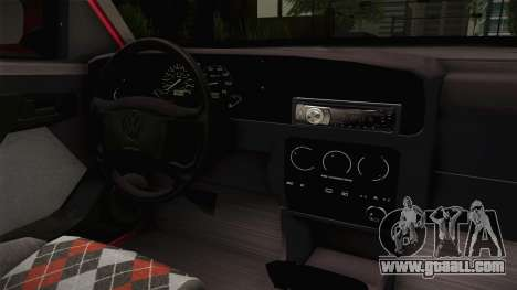 Volkswagen Golf Mk3 1997 for GTA San Andreas inner view