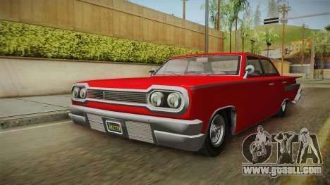 GTA 5 Declasse Voodoo 4-door for GTA San Andreas right view