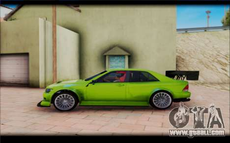 Toyota Altezza RS 200 TRD for GTA San Andreas left view
